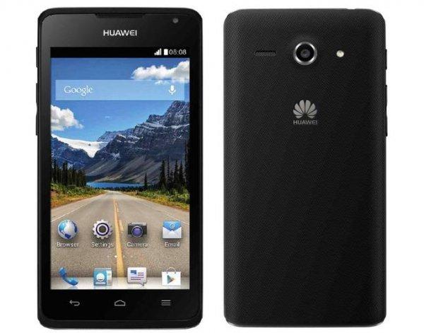 "[Kontra] Huawei Ascend Y530, Smartphone, 3G, 4 GB, 4,5"" 480 x 854 Pixel IPS, 4,9 MPix, Android, Schwarz DEMOWARE"