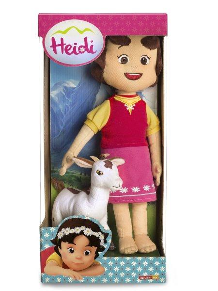 [Amazon Prime] Heidi Plüsch Puppe mit Ziege - 30cm groß - wieder günstig 7,71€