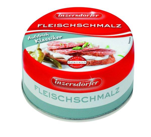 Amazon Prime : Inzersdorfer Fleischschmalz, 24er Pack (24 x 125 g) - Nur 12,44 € statt 35,76 €