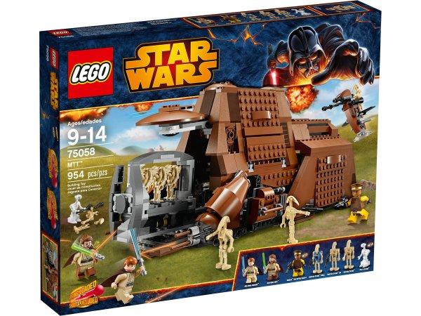 Lego Sonderangebot 50% auf -  Starwars MTT 75058 und Großes Piratenschiff 70413