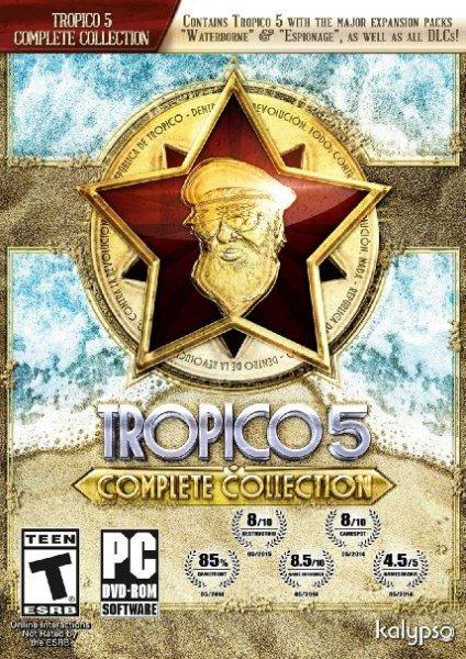 "[Steam] Tropico 5 ""Complete Collection"""