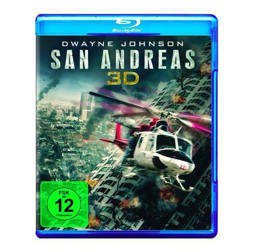 San Andreas (3D Blu-ray + Blu-ray) für 12,90€ bei Amazon & Media Markt