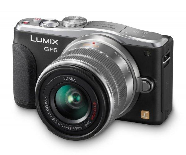 [EINZELSTÜCK] Panasonic Lumix GF6 mit 14-42mm Objektiv [Amazon WHD - Sehr Gut]