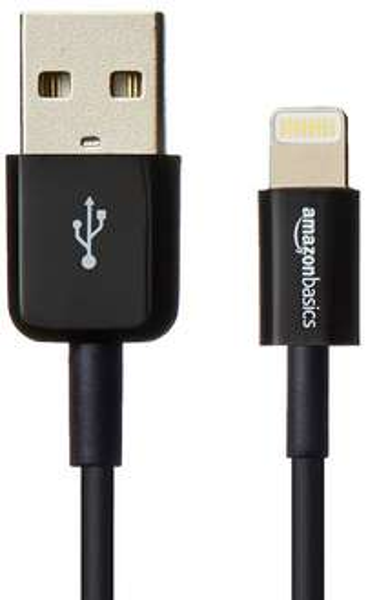 [Amazon] AmazonBasics Verbindungskabel Lightning auf USB 10,2 cm Schwarz 4,09€ Plus Produkt