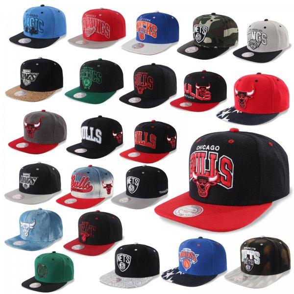 (ebay) Mitchell & Ness Snapback Caps (diverse NBA Teams) für 18,90 EUR