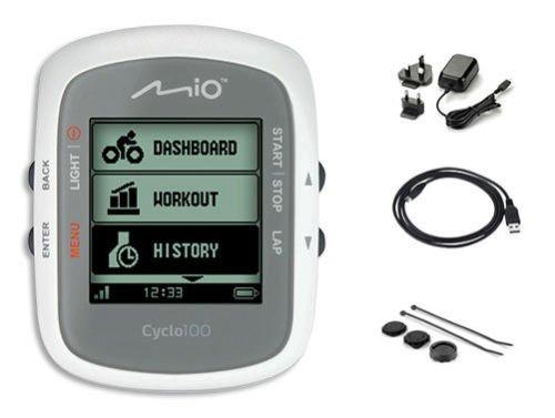 MIO Cyclo 100 - GPS-Fahrradcomputer mit Kabelübertragung für 54,44 € (PVG bei 69 €) @ voelkner.de