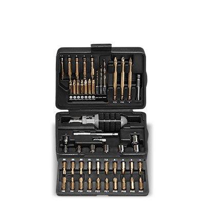 [Druckerzubehoer.de] Black&Decker XXL Werkzeugset Koffer 50-teilig