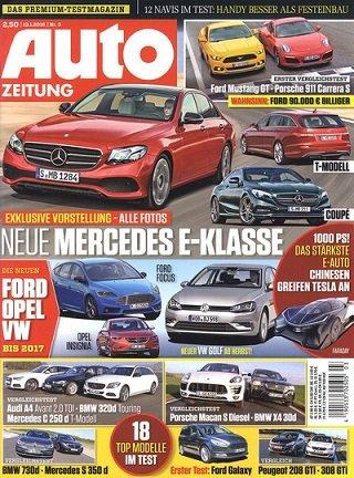 """Jahresabo """"Auto Zeitung"""""""