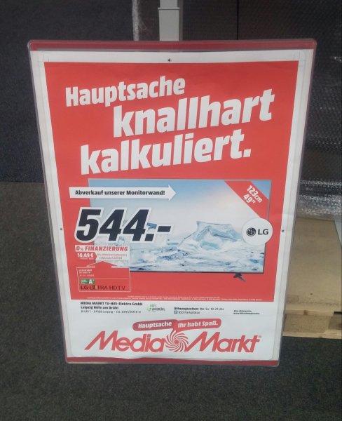 [Media Mark Leipzig] LG 49UF6809 Abverkauf