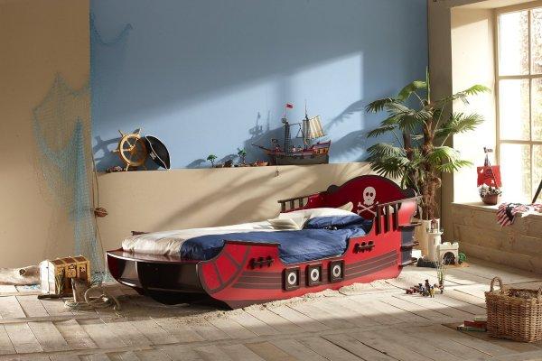 Leinen los! Demeyere Piratenbett 90 x 200 cm 158,95 € daheim.de