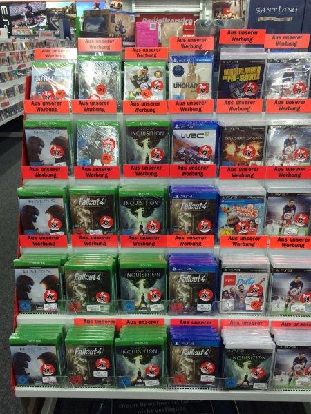 3 für 49€ Spiele Aktion im Media Markt Riesa