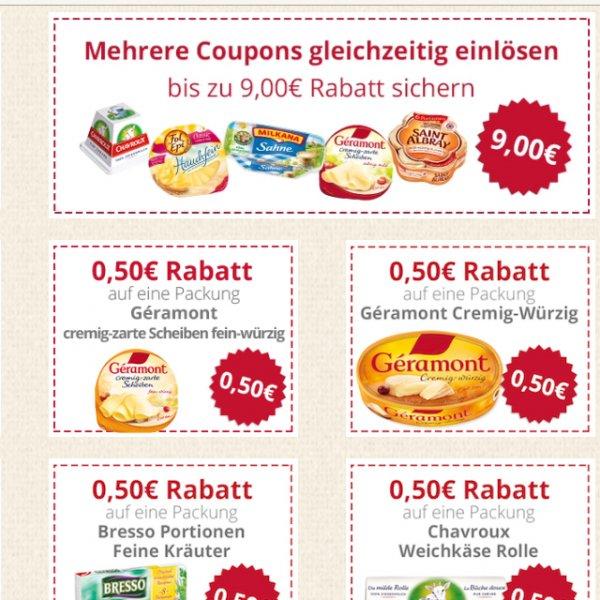 [online] Käsefreunde aufgepasst bis zu 9€ sparen mit Kassenzettel & Giovanni Ferrari Parmesan 4 mal kostenlos testen