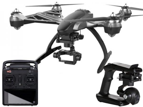 [Wieder verfügbar für 100 € mehr] Yuneec Q500 4K Quadrocopter + SteadyGrip und Gimbal für GoPro mit MK58 Video Downlink [Staufenbiel]