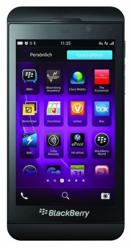 [Ebay] Blackberry Z10 LTE (4,2'' HD, Snapdragon S4 MSM8960, 2GB RAM, 16GB intern, 8MP + 2MP Kamera, 1800 mAh wechselbar, BB OS 10.1 -> 10.3.3) für 99,90€ [B-Ware]