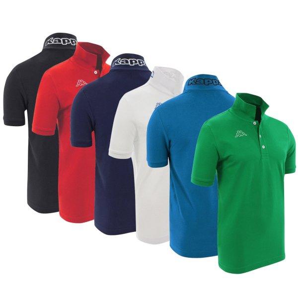 Kappa Poloshirt Life MSS lang/kurz verschiedene Farben und Größen für 10,99€ @ebay (sim-buy)