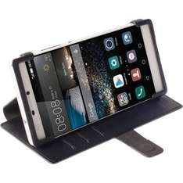Huawei P8 Case - Krusell Malmö FlipWallet schwarz - online 3,89€/ offline 2,90€ statt 16,80€