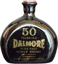 Dalmore Pure Highland Malt Scotch Whisky 50 Jahre Jahrgang 1926 ca. 0,7l Originalabfüllung
