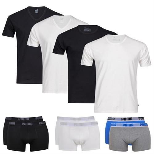 2x Puma T-Shirts / Boxershorts