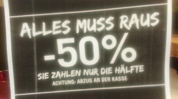 [Lokal Bonn] Butlers Räumungsverkauf -50% auf alles