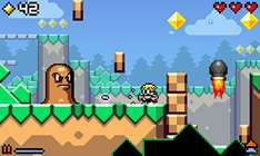 [iOS] Mutant Mudds Jump'n'Run Spiel