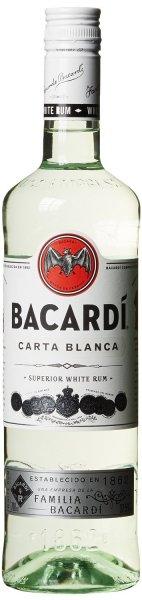 [Amazon.de-Prime] Bacardi Carta Blanca Rum (1 x 0.7 l)