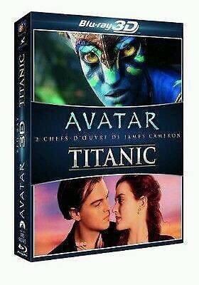Amazon.fr] Avatar 3D und Titanic 3D [3D Blu-ray] mit deutscher Tonspur inkl. Versand