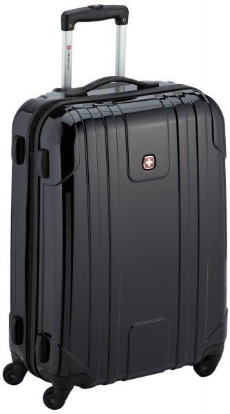 [3% Qipu] Wenger W72032226 4-Rollen Koffer EVO Lite, 66 cm, 61 Liter in schwarz mit TSA-Zahlenschloss für 89€ frei Haus @Dealclub