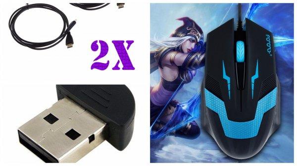 """3m Cat5e, 1xMaus, 2x HDMI Kabel, 2x Micro Usb Kabel, 1x Bluetooth Adapter oder viel mehr für 1€  """"Versand aus Deutschland"""""""