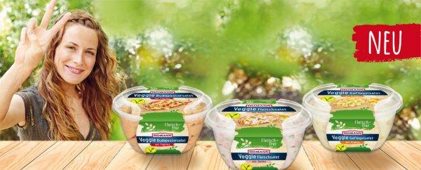 HOMANN Veggie Fleischsalat gratis testen - VORANKÜNDIGUNG