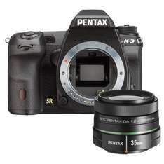 Pentax K-3 + 35mm Objektiv Kit Schwarz @amazon.fr WHD