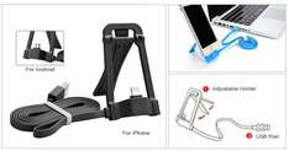 [ZAPALS] iPhone & MicroUSB-Halterung mit Ladefunktion