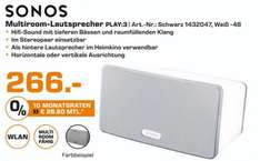 Sonos Play:3 für 266€ Saturn Berlin