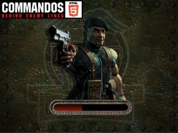 Commandos 1 und Command & Conquer als Browsergame
