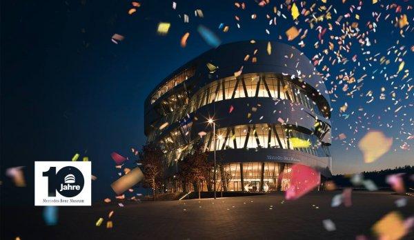 [Lokal Stuttgart] Freier Eintritt ins Mercedes-Benz Museum 19.5.2016