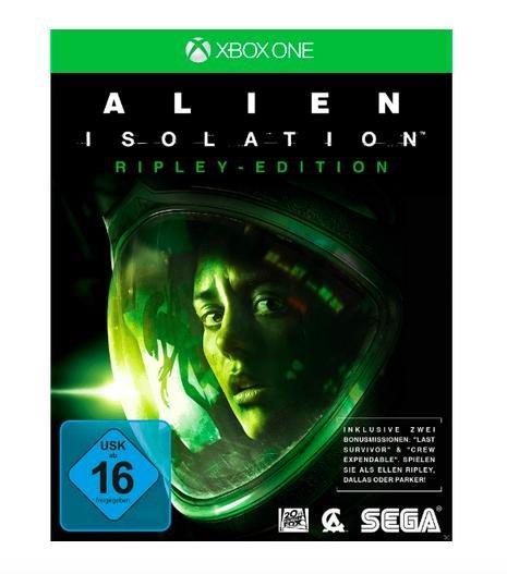 Alien: Isolation (Ripley Edition) [Xbox One] für 9,99€ bei Media Markt