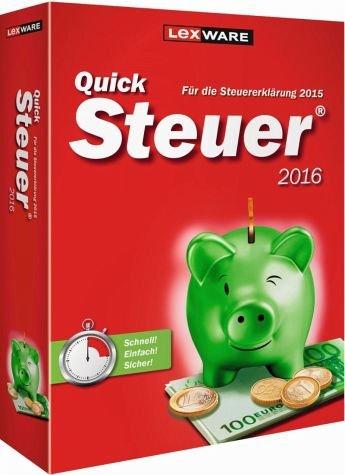 QuickSteuer 2016 (Version 22.00) für die Steuererklärung 2015
