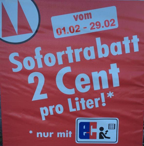[Lokal Großen Linden - bei Gießen] Mengin Tankstelle 0,02€ Rabatt pro Liter (nur mit EC-Karte)