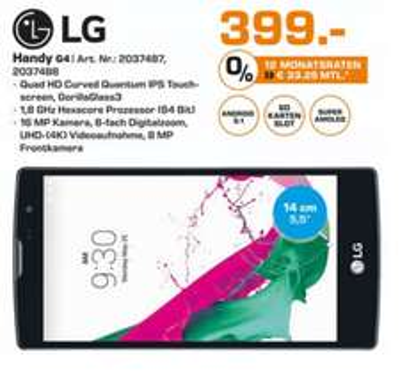 [Saturn Essen/MH/OB] LG G4 Fashion Bundle 32GB