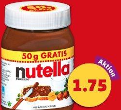 Die Quintessenz der Supermarktangebote für diese Woche - Nutella für 1,75€ *UPDATE* Cola, Fanta, Sprite für 52 Cent/Liter