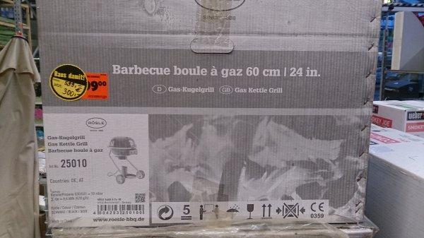 (Lokal Hornbach Düren) Raus Damit! Rösle Gasgrill 60cm für 300Euro und Rösle No.1 F50 Holzkohlegrill 50cm für 150Euro