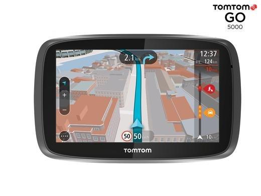[iBood] Tom Tom Go 5000 Traffic über integrierte Sim, 45 Länder, 5 Zoll