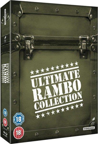 ( Mein Zehntausendster Deal + Gewinnspiel ) The Ultimate Rambo Collection 1-4 (Blu-ray) für 13,76 € bei Zavvi.de