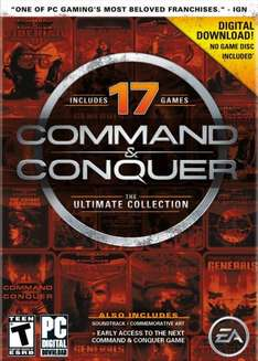 Command & Conquer  - The Ultimate Collection (17 Origin Titel) für 4.46€ @ Amazon.com