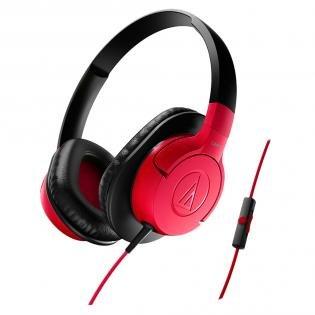 [redcoon.de] Audio-Technica ATH-AX1iSRD Rot Bügelkopfhörer für 16,98€ | Idealo 29€ -> Ersparnis 41,45%