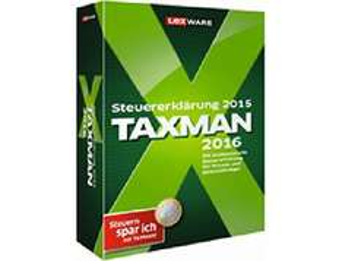 [cyberport] Lexware Taxman 2016 für Steuererklärung 2015 (DVD-ROM)