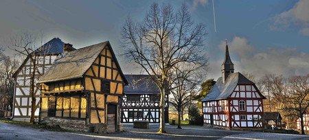 Freier Eintritt für Flüchtlinge und ihre Betreuer Hessenpark Freilichtmuseum in Neu-Anspach