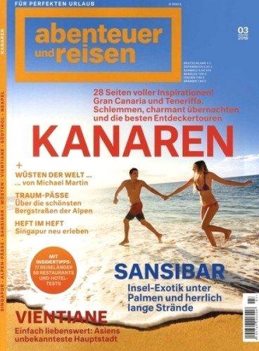 """10 Ausgaben """"abenteuer und reisen"""" für effektiv 13,00€ durch 50€ Verrechnungsscheck"""