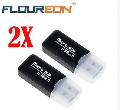 USB Card Reader Micro SD 2 Stück für 1€ incl. Versand aus D