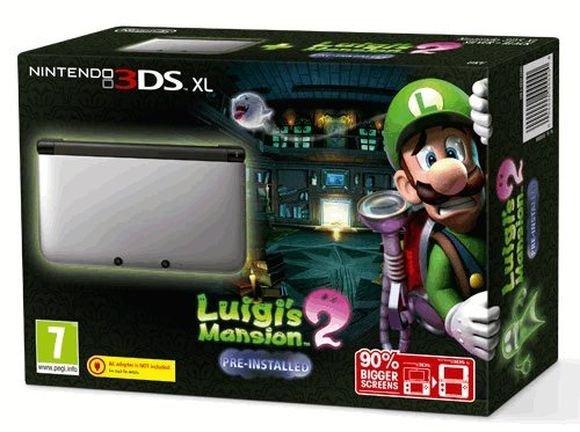 Nintendo 3DS XL + Luigi's Mansion 2 für 139,95€ bei Coolshop