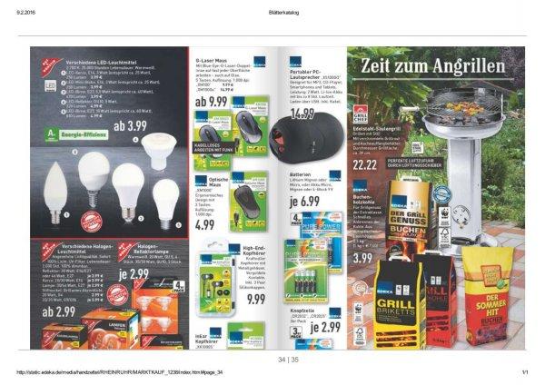 Edelstahl Säulengrill Landmann Marktkauf Rhein Ruhr für 22,22